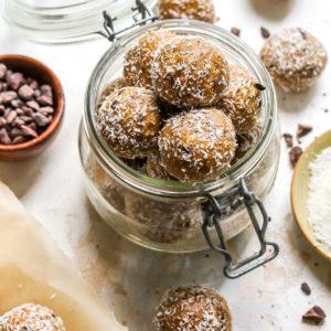 Salted Dark Chocolate Collagen Bliss Bites (4-pack)