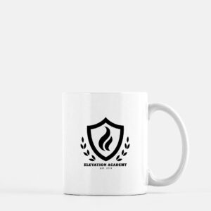 Elevation Academy Ceramic White Mug